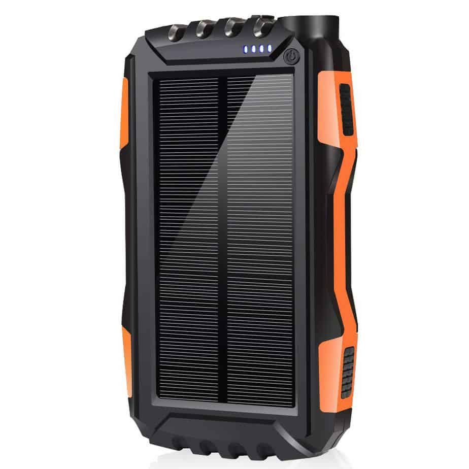4 - Best Solar Power Bank